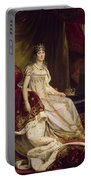 Josephine In Coronation Costume Portable Battery Charger