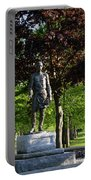 Joshua Lawrence Chamberlain, Bowdoin College Campus  #0025 Portable Battery Charger by John Bald