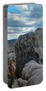 Joshua Tree Boulder Sky Portable Battery Charger