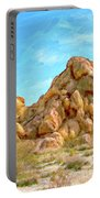 Joshua Tree Rocks Portable Battery Charger