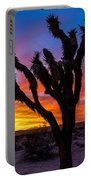 Joshua Tree Silhouette Portable Battery Charger
