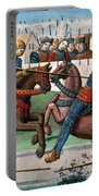 Jousting Knights, 1499 Portable Battery Charger