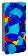Joy Fish Abstract Portable Battery Charger