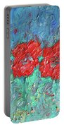 Joy Of Poppies Portable Battery Charger