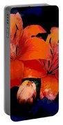 Joyful Lilies Portable Battery Charger