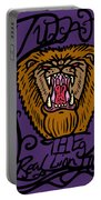 Judah The Real Lion King Portable Battery Charger