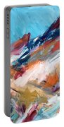 Judean Hill Abstract Portable Battery Charger