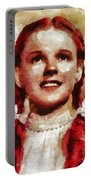 Judy Garland, Vintage Actress By Mb Portable Battery Charger