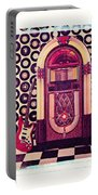 Juke Box Polaroid Transfer Portable Battery Charger