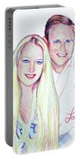 Jules And Tim Portable Battery Charger