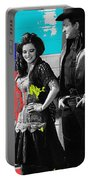 June Carter Cash Johnny Cash In Costume Old Tucson Arizona 1971-2008 Portable Battery Charger