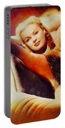 June Haver, Vintage Hollywood Actress Portable Battery Charger