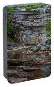 June Morning At Awosting Falls Portable Battery Charger