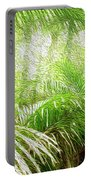 Jungle Abstract 1 Portable Battery Charger