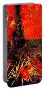 Jungle At The Corner Of Concha And Laconia Portable Battery Charger by Eikoni Images