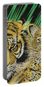 Jungle Cats Portable Battery Charger