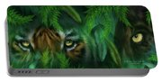 Jungle Eyes - Tiger And Panther Portable Battery Charger