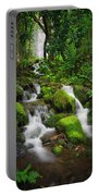 Jungle Falls Portable Battery Charger