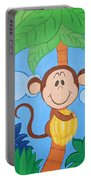 Jungle Monkey Portable Battery Charger