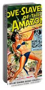 Jungle Movie Poster 1957 Portable Battery Charger
