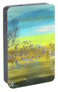 Just Another Damask In Paradise Portable Battery Charger