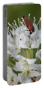 Just Having A Lunch. Marsh Labrador Tea Portable Battery Charger