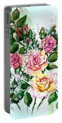 Just Roses Portable Battery Charger