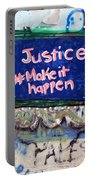 Justice Make It Happen Portable Battery Charger