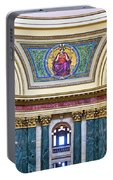 Justice Mural - Capitol - Madison - Wisconsin Portable Battery Charger