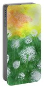 Justin's Dandelions Portable Battery Charger