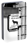 K9 At Work Portable Battery Charger