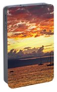 Ka'anapali Sunset Fire Portable Battery Charger