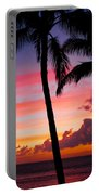 Kaanapali Sunset  Kaanapali  Maui Hawaii Portable Battery Charger