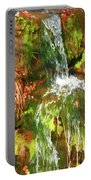 Waterfall Of Love Portable Battery Charger