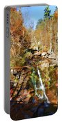 Flows Down The Cliff Portable Battery Charger