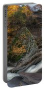 Kaaterskill Falls Autumn Portable Battery Charger
