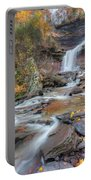 Kaaterskill Falls Autumn Portrait Portable Battery Charger