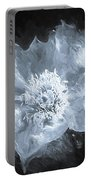 Kaktus Prickly Pear Cactus Bw Portable Battery Charger