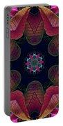 Kaleidoscope Christmas Poinsettia  Portable Battery Charger