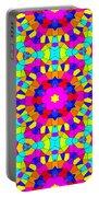 Kaleidoscopic Mosaic Portable Battery Charger