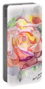 Kaleidoscopic Rose Portable Battery Charger