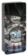Kaleidoscopic Tokyo Portable Battery Charger
