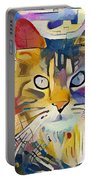 Kandinsky Cat Portable Battery Charger