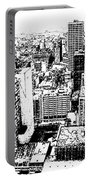 Kansas City Skyline - Ink Portable Battery Charger