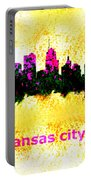 Kansas City Skyline 1 Portable Battery Charger