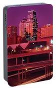 Kansas City Skyline 1991 Portable Battery Charger