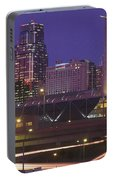 Kansas City Skyline 1998 Portable Battery Charger