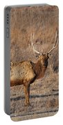 Kansas Elk Portable Battery Charger