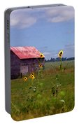 Kansas Landscape Portable Battery Charger by Steve Karol