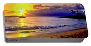Kapalua Bay Sunset Portable Battery Charger
